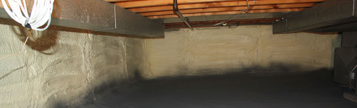 crawl space insulation in Wyoming